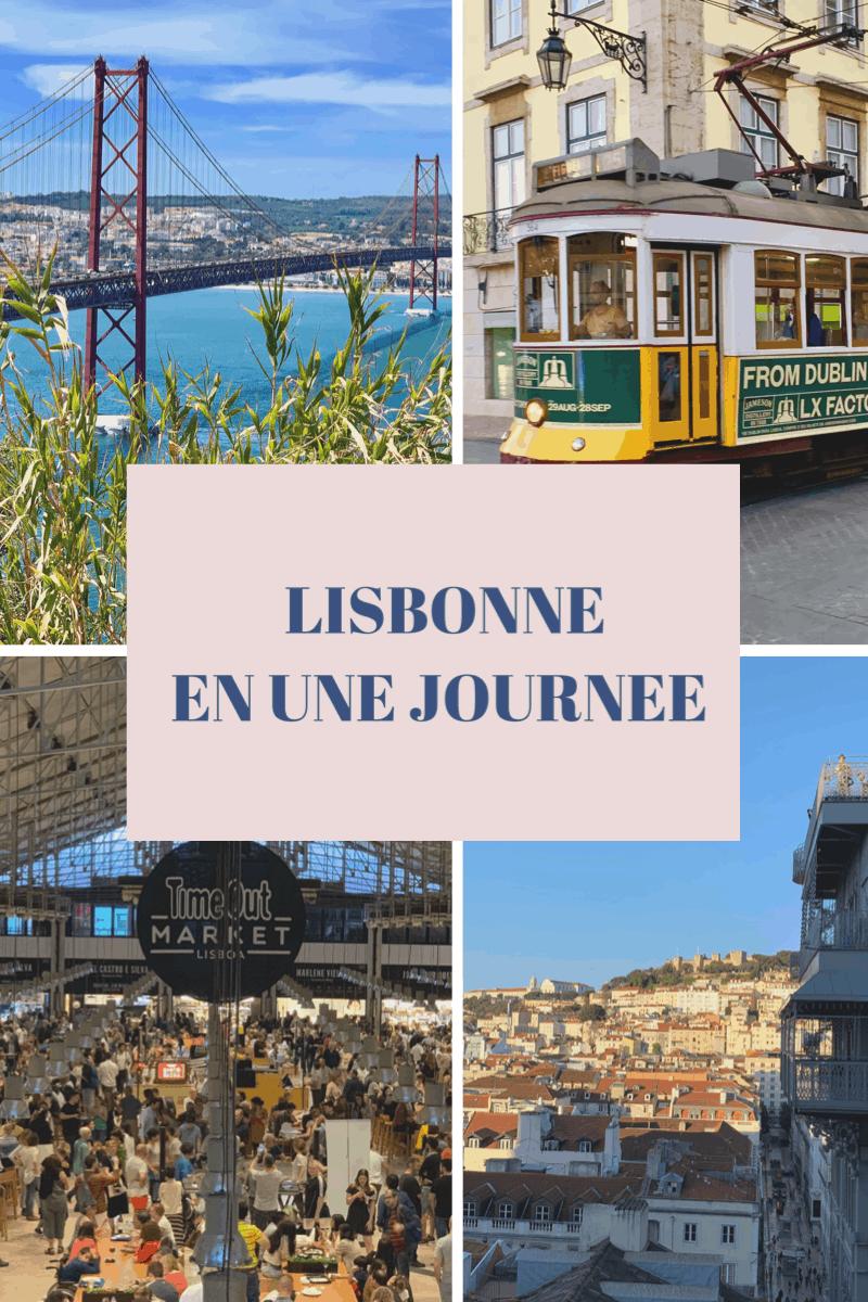 Lisbonne en une journée